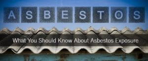 Our Asbestos exposure lawyers discuss what you should know about asbestos exposure.