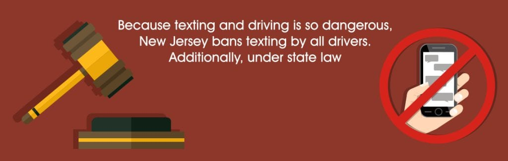 New Jersey Texting While Driving Attorneys