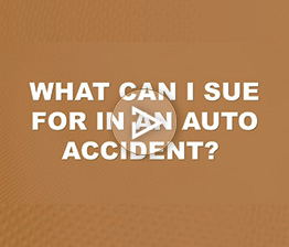 What can I Sue for in an Auto Accident? | Auto Accident FAQ