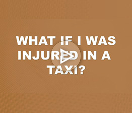 What if I Was Injured in a Taxi? | Auto Accident FAQ