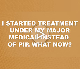 I Started My Treatment Under My Major Medical Instead of PIP. What Now? | Auto Accident FAQ