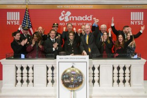 Steven and MADD at NYSE