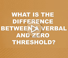 What Is The Difference Between A Verbal And A Zero Threshold? | Auto Accident FAQ