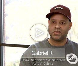 Gabriel R.   Client Testimonial