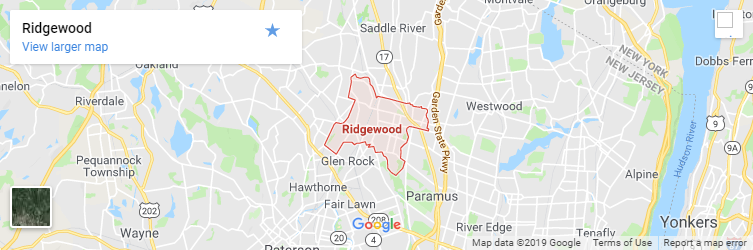 Ridgewood New Jersey Map.Ridgewood New Jersey Auto Accident Lawyer